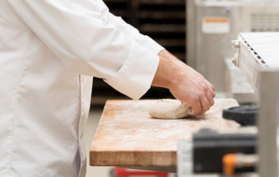 bakker deeg  werkbank