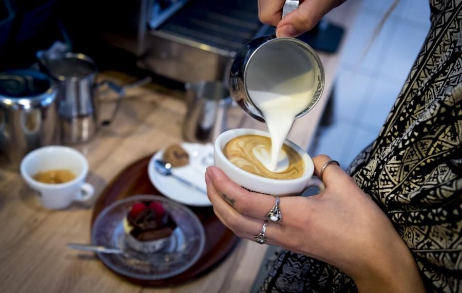 koffie inschenken