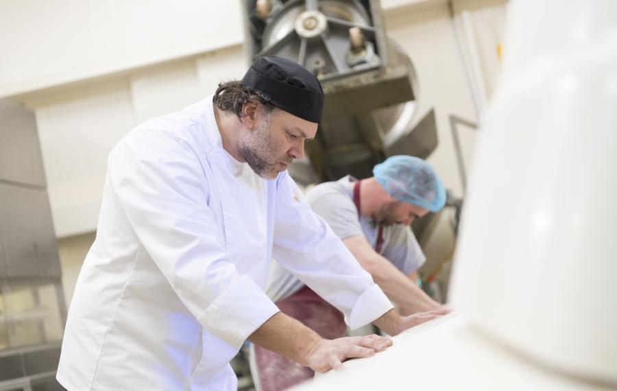bakker in bakkerij